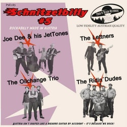 Various - Joe Dee And His JetTones, The Oilchange Trio, The Ridin' Dudes, THE LETTNERS – SCHNITZELBILLY #5 Rockabilly made in Austria vinyl ep