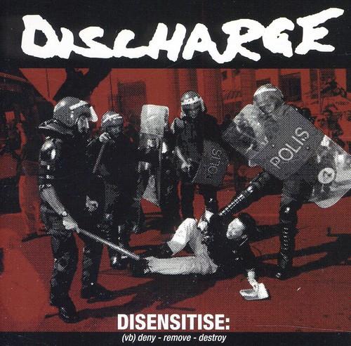 Discharge - Disensitise Cd