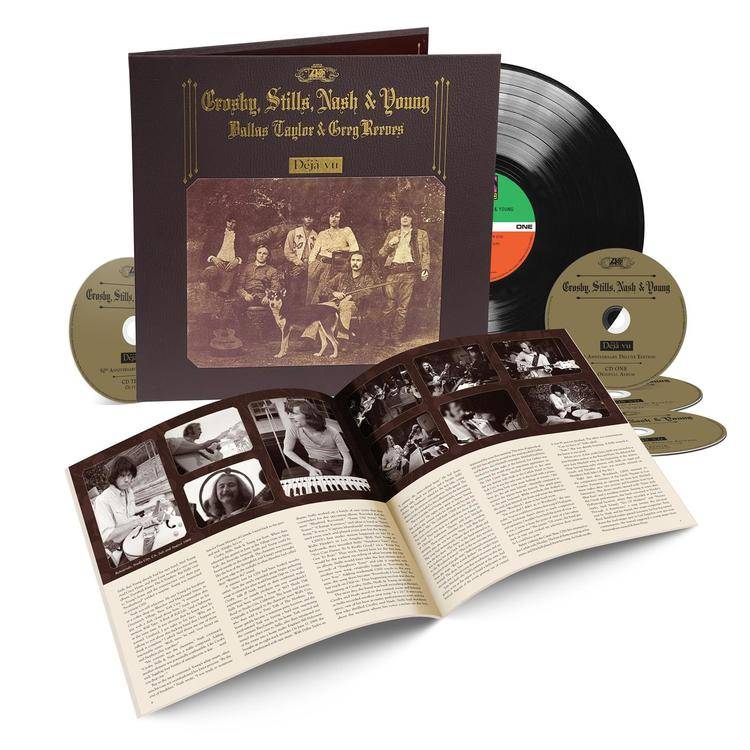 Crosby, Stills, Nash & Young - Deja Vu - 50th Anniversary (LP+4CD)