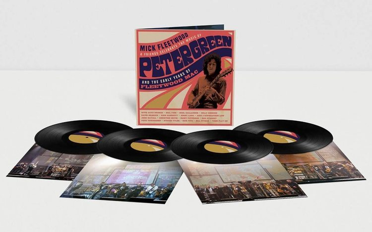 Mick Fleetwood And Friends - Celebrate The Music Of Peter Green And The Early Years Of Fleetwood Mac (VINYL - 4LP)