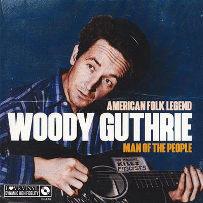 Woody Guthrie - Man Of The People - American Folk Legend  Lp