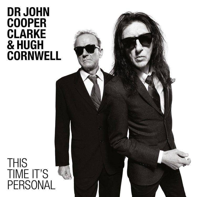 Dr. John Cooper Clarke & Hugh Cornwell - This Time It's Personal Lp