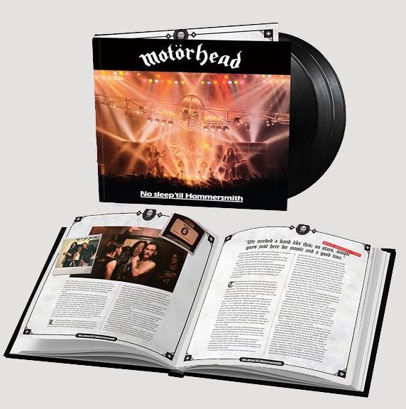 Motörhead – No Sleep' To Hammersmith 40th Anniversary Deluxe Edition | 3Lp