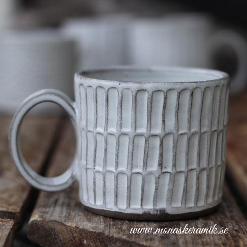 Lisa - Mönstrad kaffe-/temugg