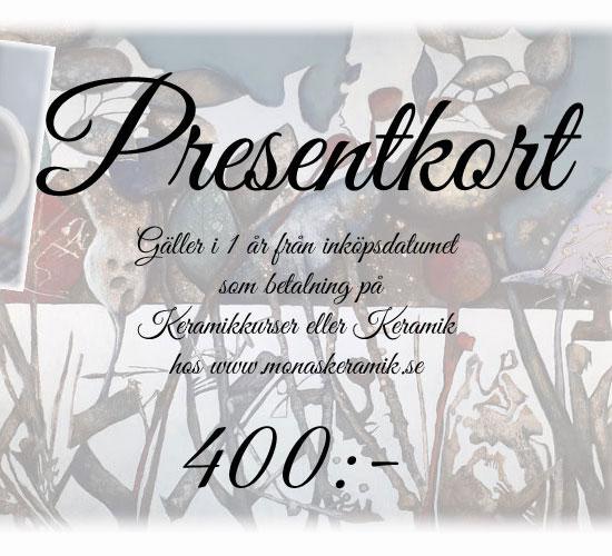 Presentkort 400