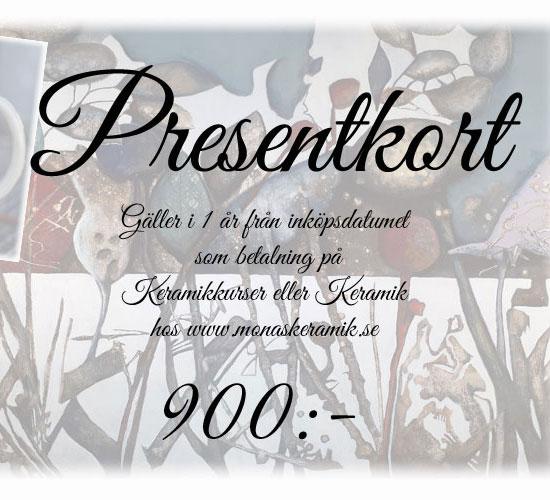 Presentkort 900