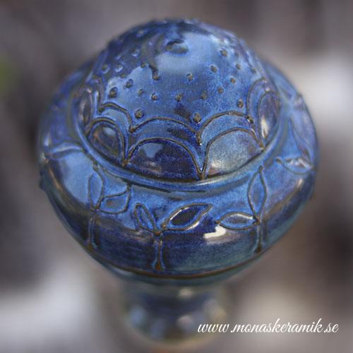 """Trädgårds ornament 2 """"Blåklint"""""""