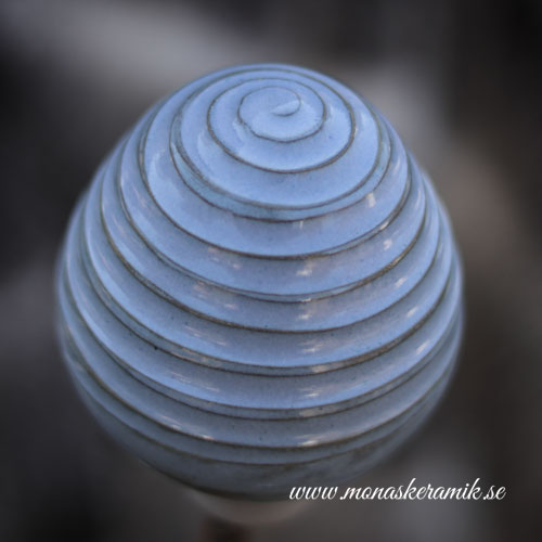 "Trädgårds ornament 3 ""Robins Egg"""