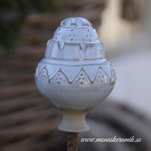 "Trädgårds ornament 5 ""Robins Egg"""