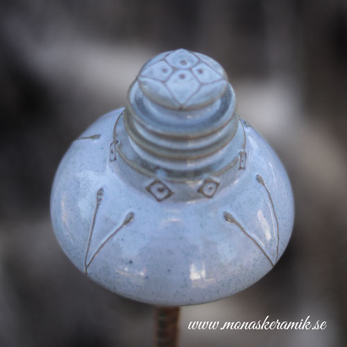 "Trädgårds ornament 6 ""Robins Egg"""