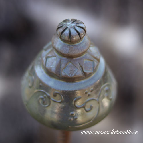 """Trädgårds ornament 4 """"Sommargrön"""""""