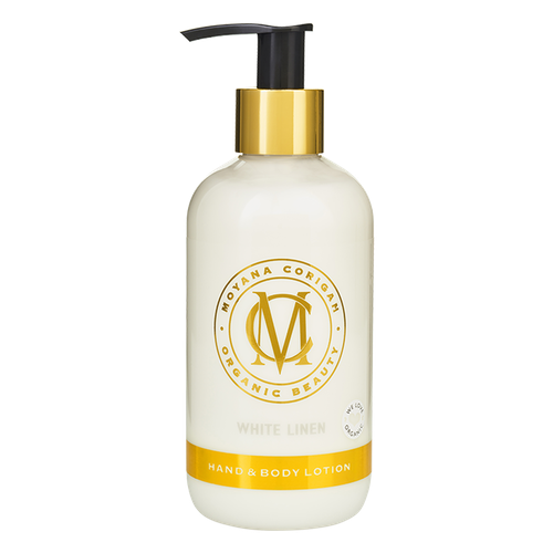 Hand & Body Lotion, White Linen, 250 ml