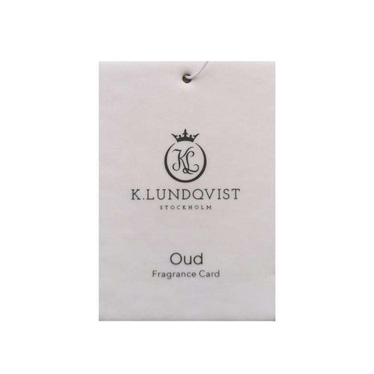 Bildoft Oud - Mysk, svart vanilj och oud