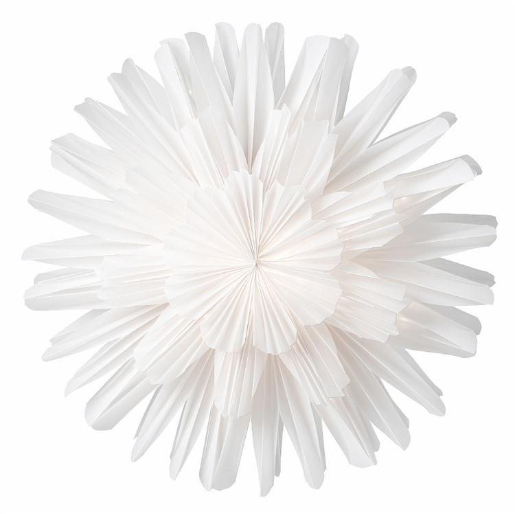 Julstjärna Snöblomma 44 vit