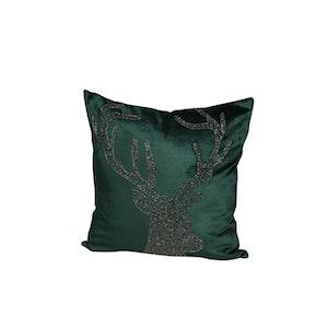 Kuddfodral ren grön