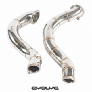 "3"" BMW N54 Downpipes / Decat"