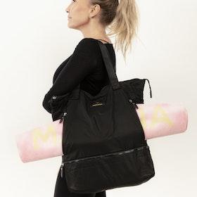 Väska med ficka för yogarulle
