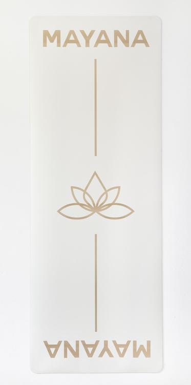 Yogamatta MAYANA WHITE 5 mm premium antislip