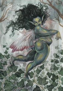 A3 'Ivy Fae' Print