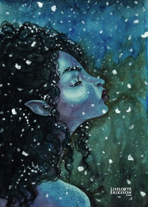 'Snow' Print