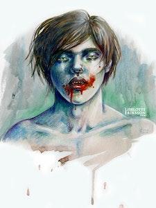 'Vampire' Print