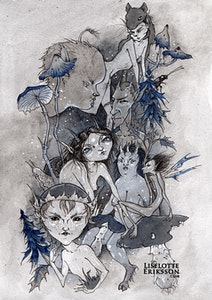 'Blues' Print
