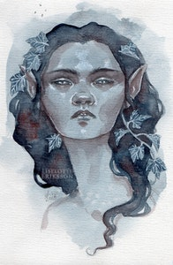 'Blue Ivy' Print