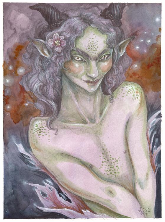'Pastel Faun' Print