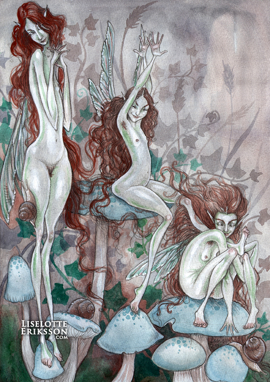 'Three' Print