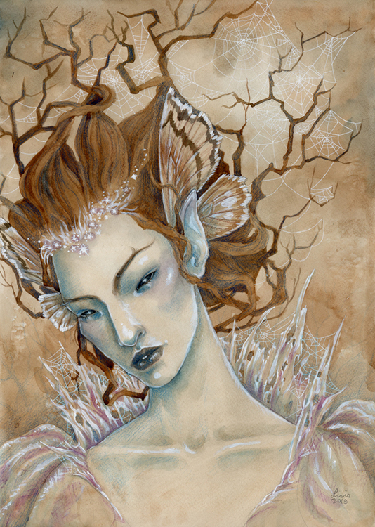'Unseelie Lady' Original Painting