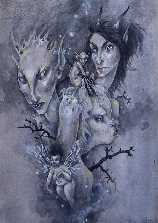 'Gloom' Original Painting