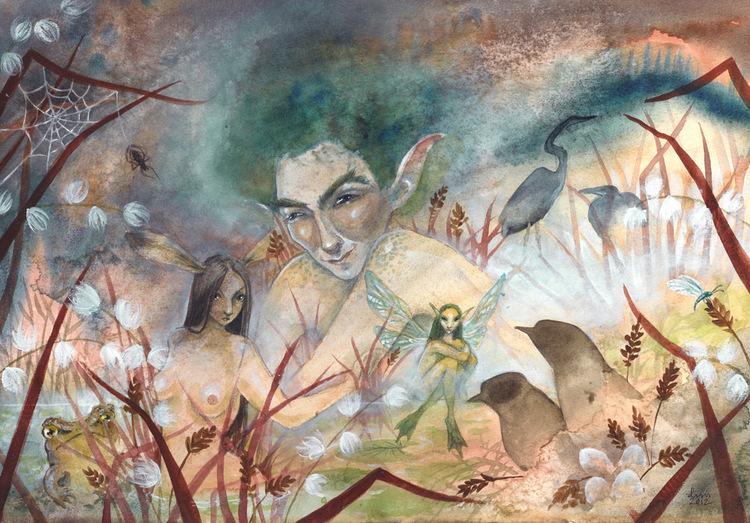 'Marshland' Original Painting
