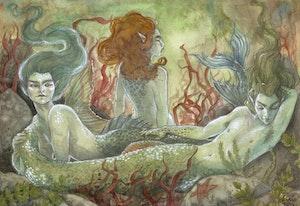 'Mermen' Print