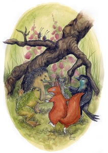 'Forest Dance' Print