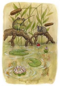 'Fishing' Print