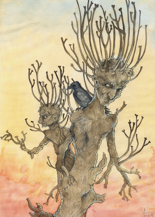'Apple Tree' Original Painting