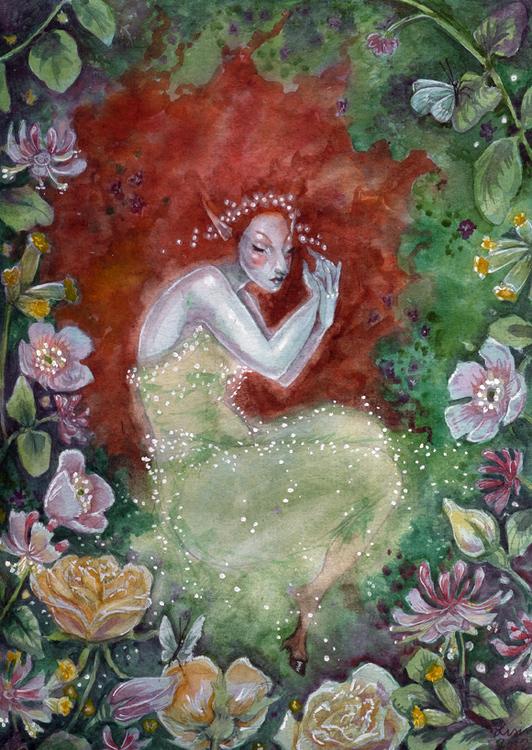 'There Sleeps Titania' Original Painting