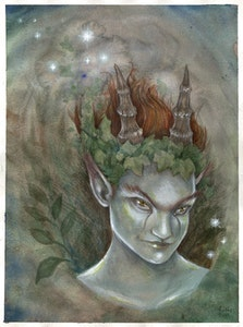 'Trickster' Original Painting