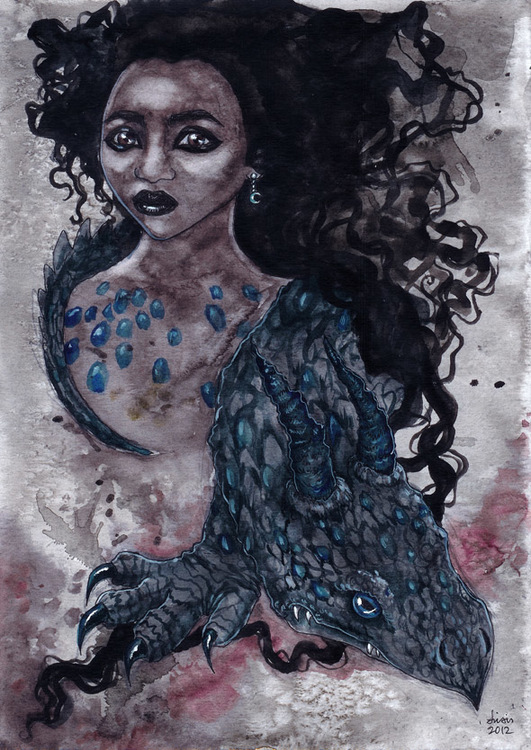 'Pet Dragon' Original Painting