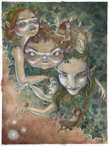 'The Ivy Bunch' Original Painting