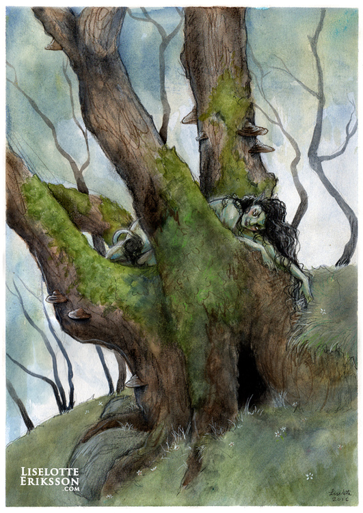 'Tree Dweller' Original Painting