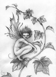 'Ivy Pixie' Original Drawing