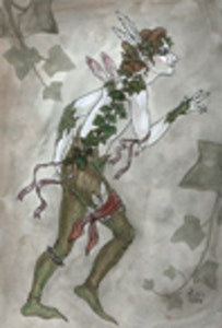 'A Boy Fae' Original Drawing
