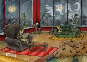 'Coffee Shop' Original Painting