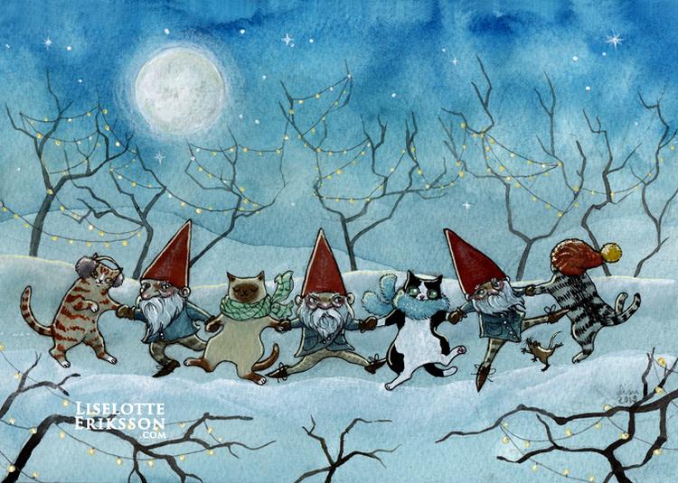 'Winter Romp' Original Painting