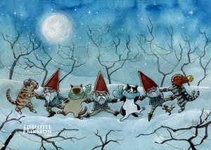 'Winter Romp' Original Painting