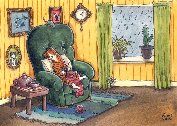 'Rainy Day' Print