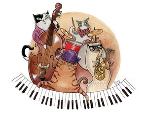 'Jazz Band' Print