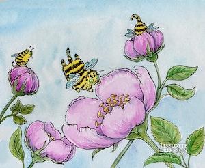 'Buse Bees' Print