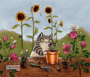 'Gardener' Print / Card